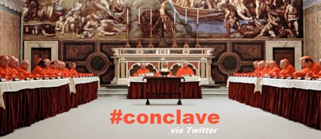 +V+ #Conclave Via Twitter