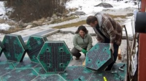 Solar Roadways panels